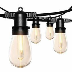 SUNTHIN 48FT LED Outdoor String Light with Shatterproof LED