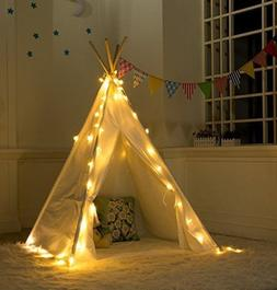 Revanak Fairy Lights for Teepee Tents - Battery Operated 4 L