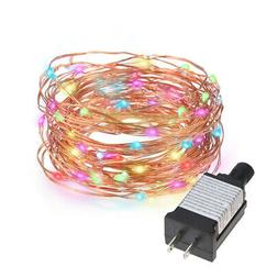 Tomshine 10M/33FT 100LED Starry Copper Wire String Extra Thi