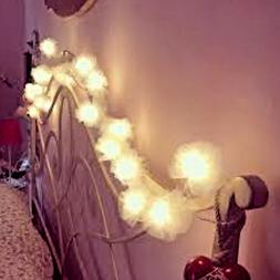 Tulle Fairy Lights | Girls Bedroom Fairy Lights | Tutu Balle