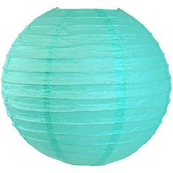 "Just Artifacts 24"" Turquoise Blue Chinese/Japanese Paper Lan"