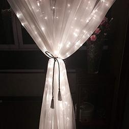 slashome Ucharge 29V 306LED Window Curtain Icicle Light with
