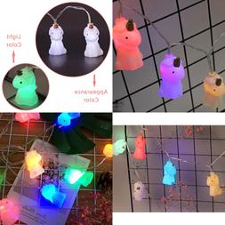 Unicorn Battery Operated Fairy Lights 8Ft 10 LED 2 Modes Str