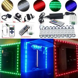 10~100ft 5050 SMD 3 LED Bulb Module Lights Club Store Front
