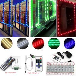 US 10FT 3 LEDs 5050 SMD Module Lights Bedroom Closet Kitchen