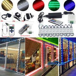 US Brightest Store Front LED Window Light Module with US pow