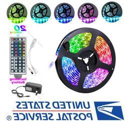 US Local -16.4ft Led Strip Lights 5050 RGB Led Tape Lights C