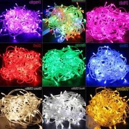 【US】100-800 LED Lights In/Outdoor Fairy Xmas Christmas S