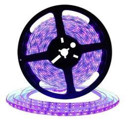 UV/Ultraviolet Black Lights LED Strip 300 LEDs Non-waterproo