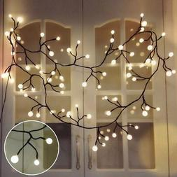 YMING Globe String Lights, 8.3Ft 8 Modes 72 Led Decorative S