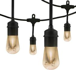 Enbrighten Vintage Series Café LED String Lights , 6 Lifeti