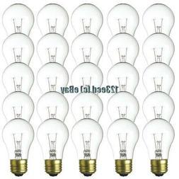 Warm White - A15-15w Bulbs - 25 Patio Light String Bulbs
