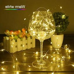 Warm White, 0-5W : ZjRight LED String Lights 4pcs 4M 40Led B