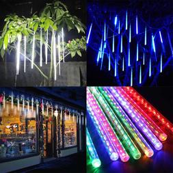 Waterproof 8 Tubes LED String Lights Meteor Shower Rain Drop