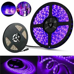 Waterproof Ultraviolet UV Black Light Strip 16.4Ft/5M 3528 6
