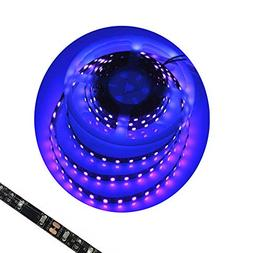 Blacklight UV Led Light Strip Waterproof 16FT 3528SMD Ultrav