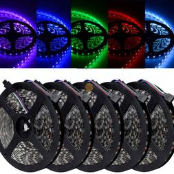 ElcPark Wholesale Black Board 5050 LED Flexible Strip RGB 30