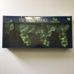 Wilson & Fisher Grape Cluster Light Set 150 Lights Garden Pa