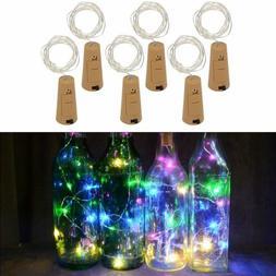 1·6X Wine Bottle 10LED Cork Lights String Lights Bottle Sto