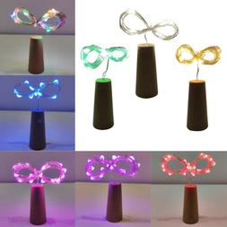 Wine Bottles String Lights Cork Copper Wire Starry Fairy Lig