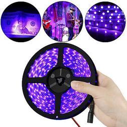 Waterproof Ultraviolet UV Black Light Strip 16.4Ft/5M 3528 6