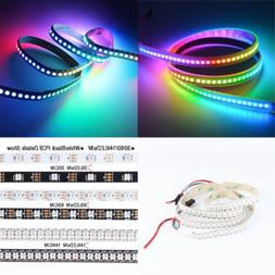 WS2812B 5050 RGB LED Strip 30/60/144 LEDs/M ws2812 IC Indivi