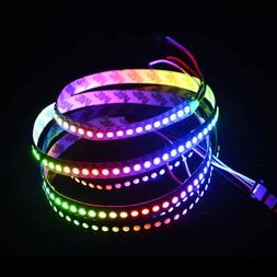 ElcPark WS2812B 5050 SMD RGB Dream Color 1M 144 LED Strip Li