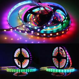 WS2812B Strip LED Lights 5050 RGB 30/60/144 LED/M IC Individ