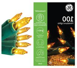 YEAR-ROUND GE 100-CT GOLD ConstantON® INCANDESCENT STRING L
