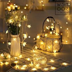 YINUO <font><b>LIGHT</b></font> 10/20/100 LED Star <font><b>