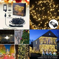 YoyoKit 360 LEDs Fairy String Lights Lamp 25M  8 Modes 31V M